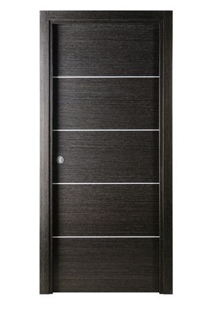 Avanti Modern Interior Pocket Door In A Black Apricot Finish: Pocket Door  For Momu0027s Bathroom Design