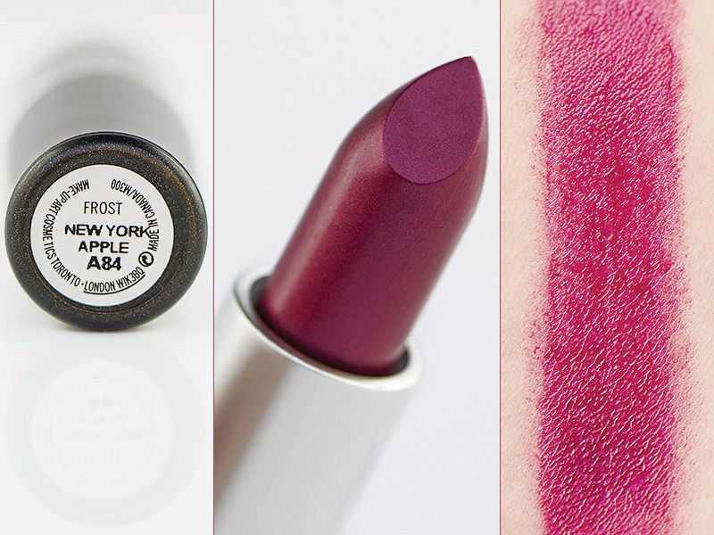 mac frost lipstick rouge a levres review the art of beauty. Black Bedroom Furniture Sets. Home Design Ideas