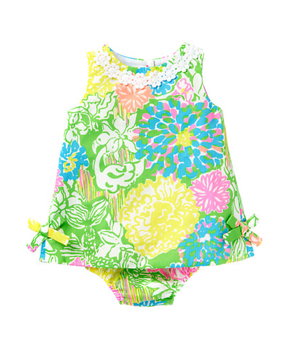 a73bf2235 Lilly Pulitzer Baby Lilly Shift Dress - Hibiscus Stroll   My girls ...