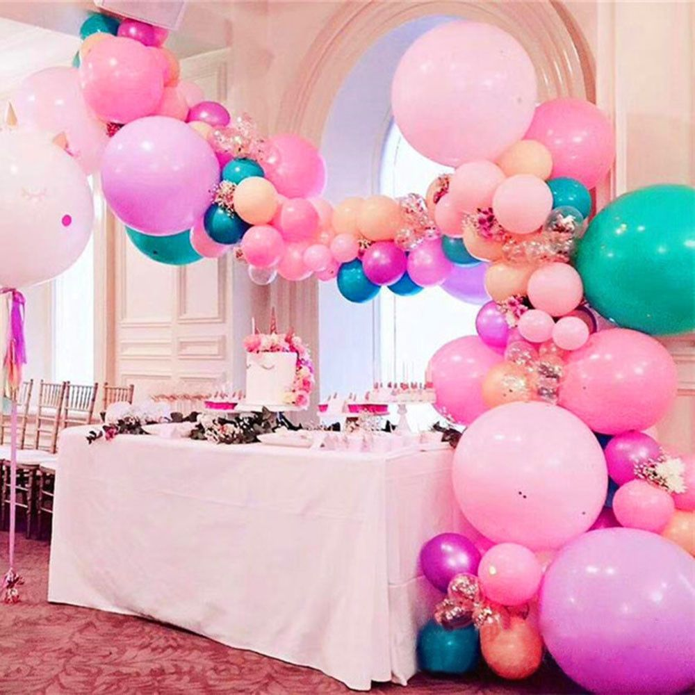 5m balloon chain tape arch connect strip for wedding party