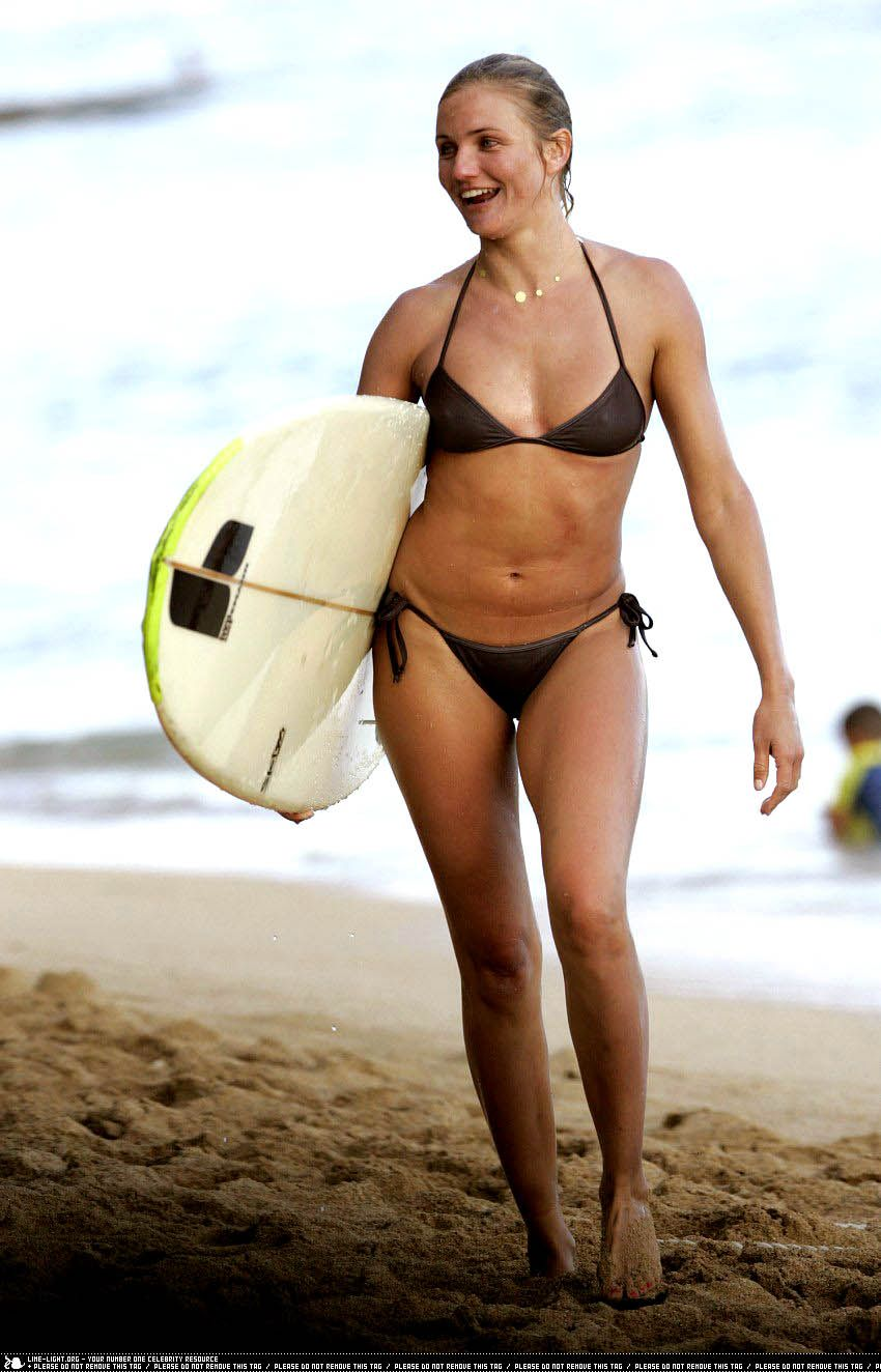 Cameron Diaz  Womens Surfing  Watersports  Pinterest -6360