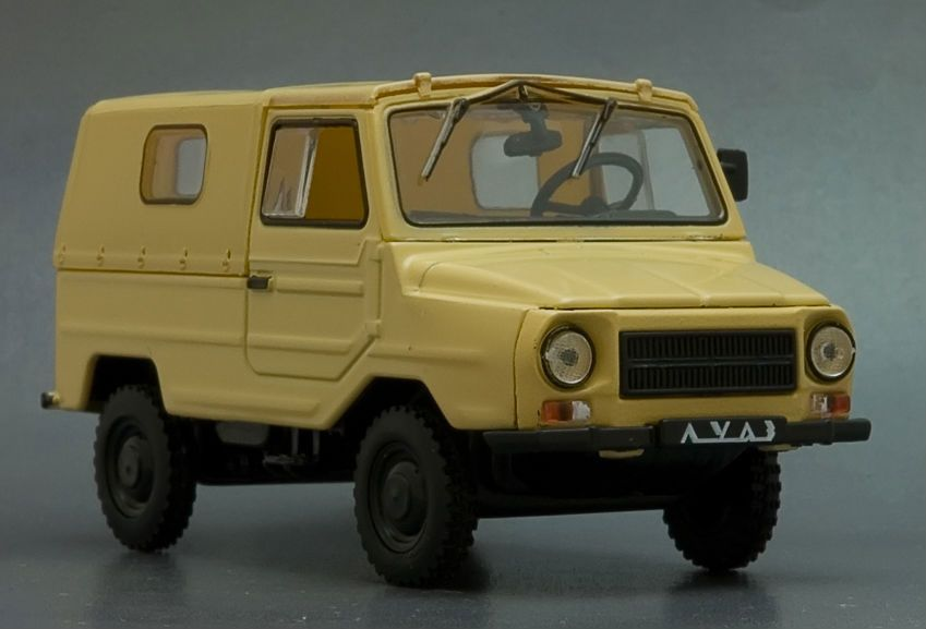 """LuAZ-969 /""""Volyn/"""" autolegend Of the USSR Scale car 1:43"""