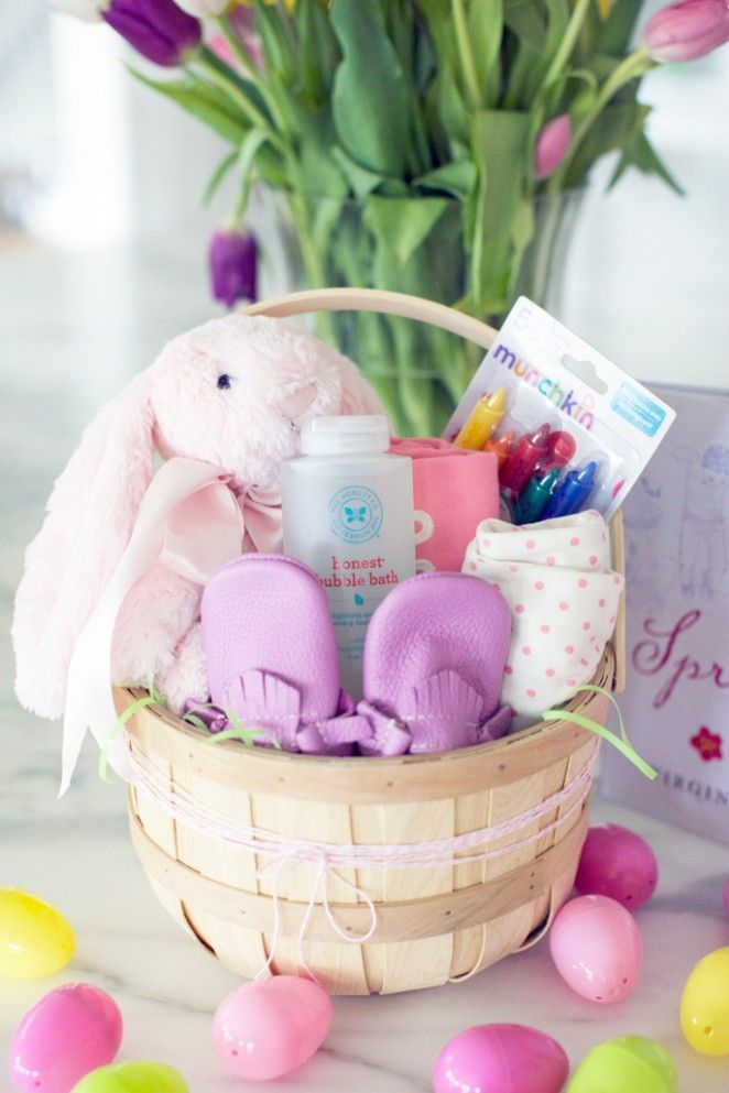 Easter sunday basket ideas easter baskets and easter baby girl easter basket ideas negle Images