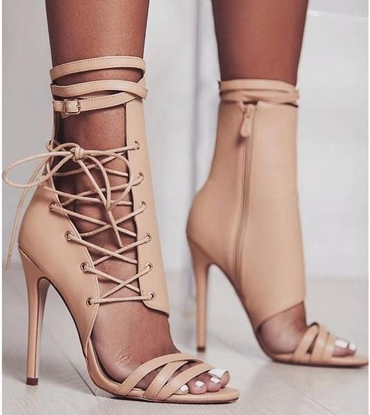 35b5495cb00d Beige aesthetic tumblr. Beige heels shoes. Spring heels 2019. 2019
