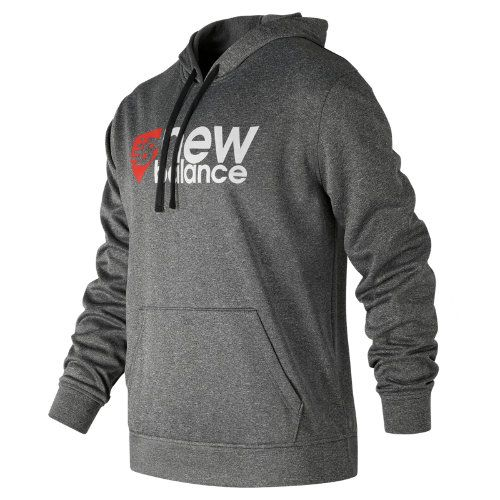 f2b98692 New Balance 704 Men's NB Stack Plate Hoodie - Grey/Red ...