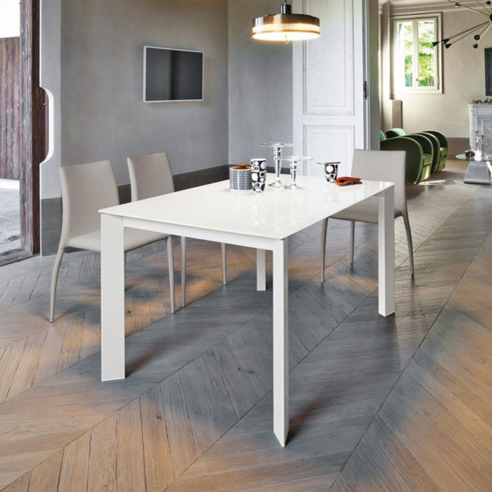 Tavolo in alluminio Sara Home ideas Metal dining table