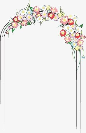 Wedding Arches Wedding Marry Flowers Png And Vector Wedding Arch Floral Pattern Design Wedding