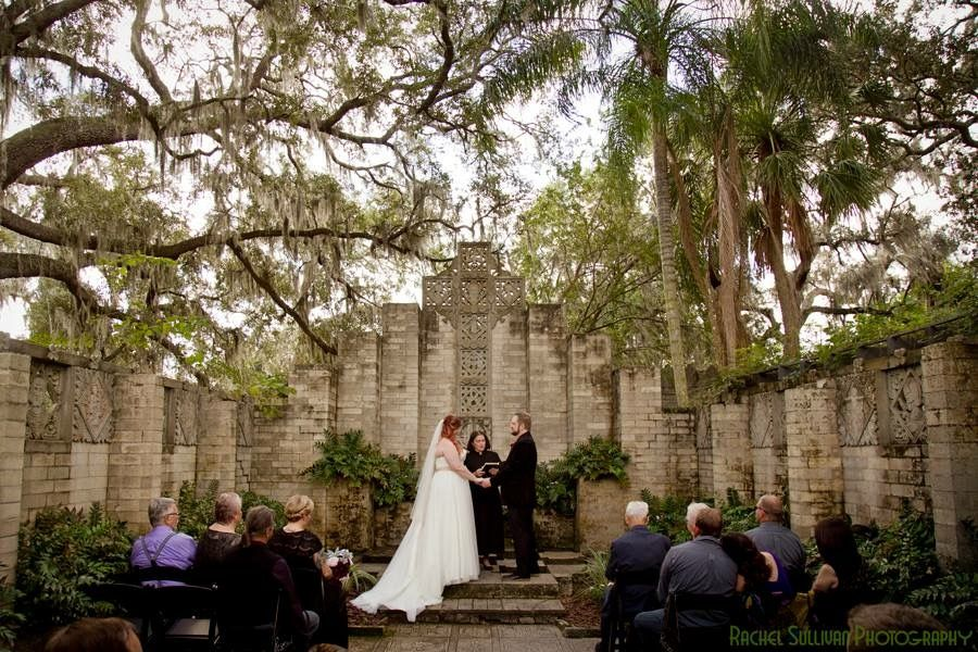From sean and mandas stunning wedding in the mayan chapel
