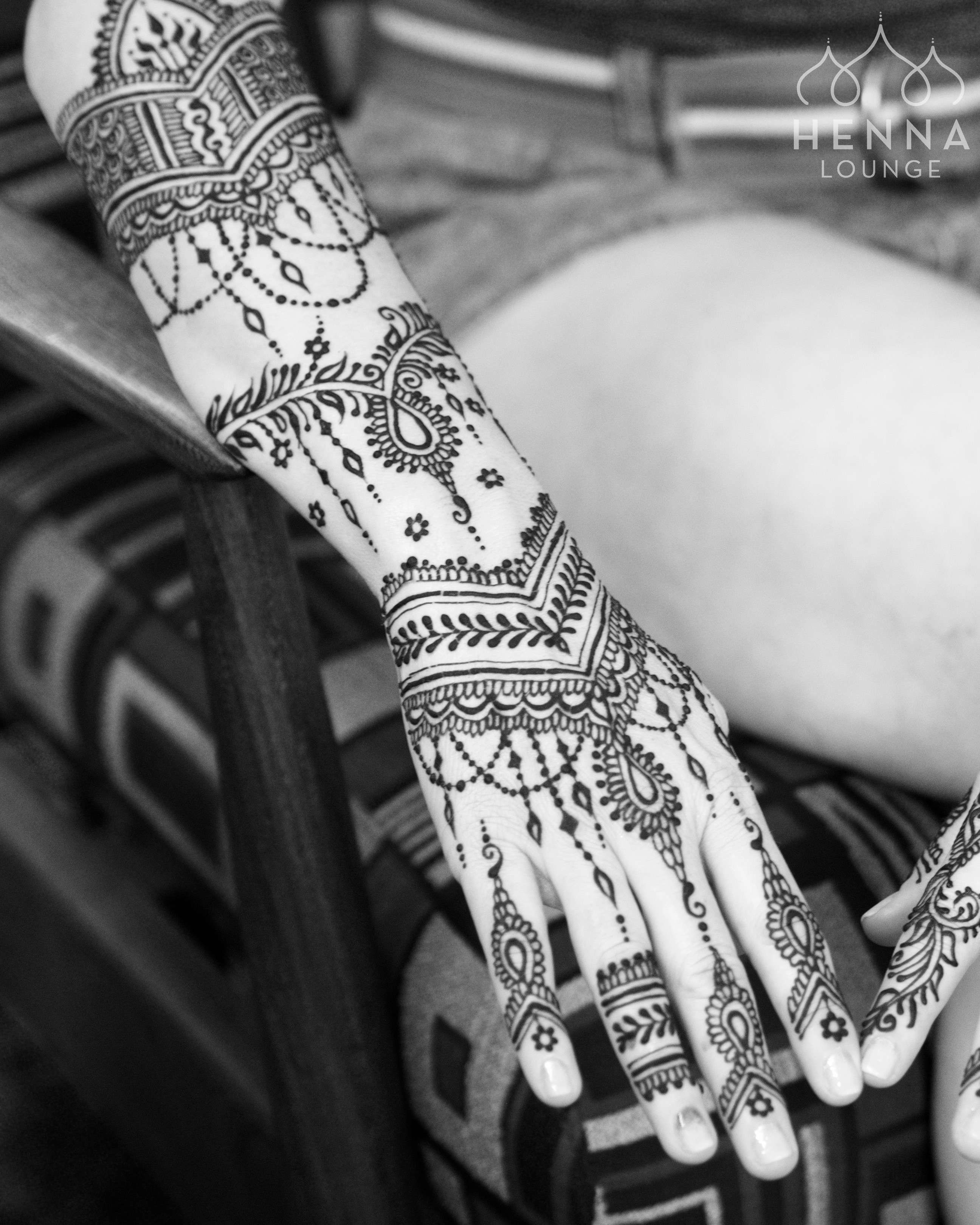 East Indian Henna Tattoo: Some Of The Bridal Henna I Did For This Weekend's Wedding