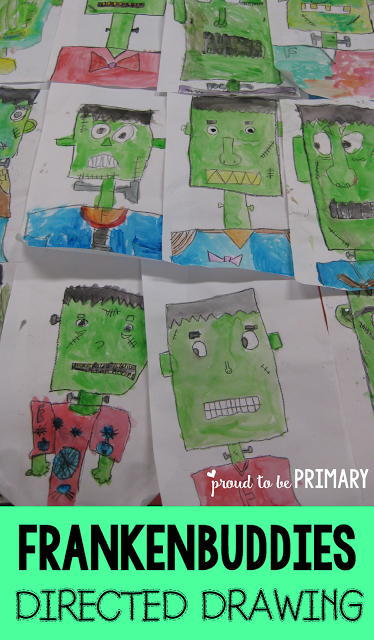The Frankenstein Drawing Any Child Can Create Halloween