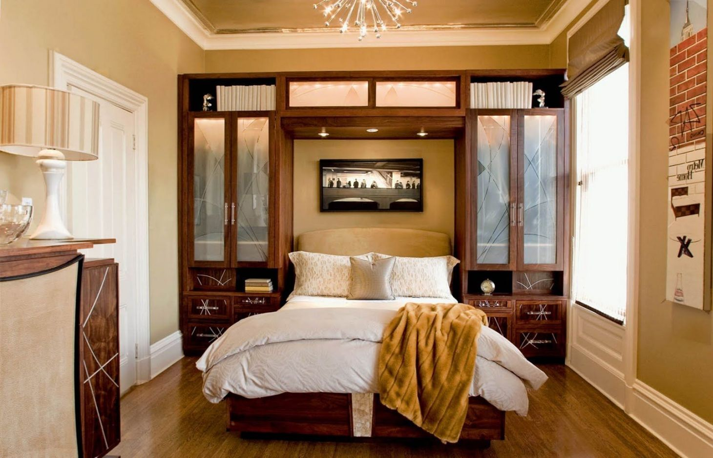 20+ Minimalist Small Master Bedroom Designs anda ...