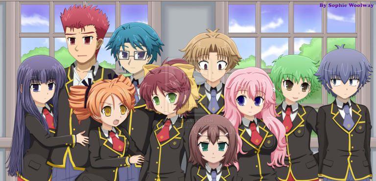 Pin Em Animes Variados