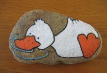 Decorative Rocks : kindersteentjes #bemaltekieselsteine