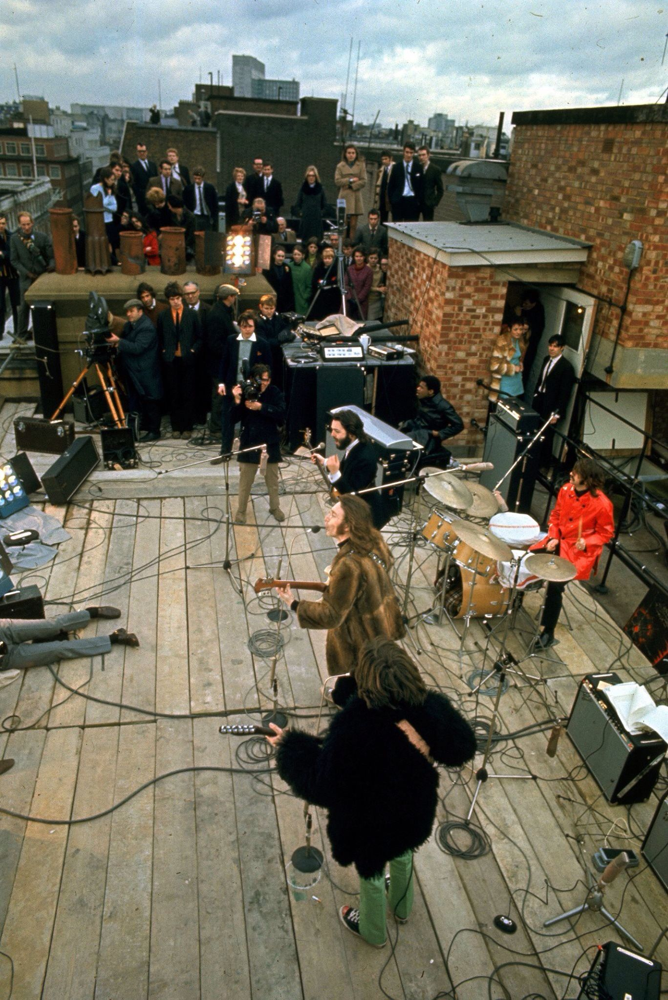 1969 - The Beatles, The Rooftop Concert, 30th January ...