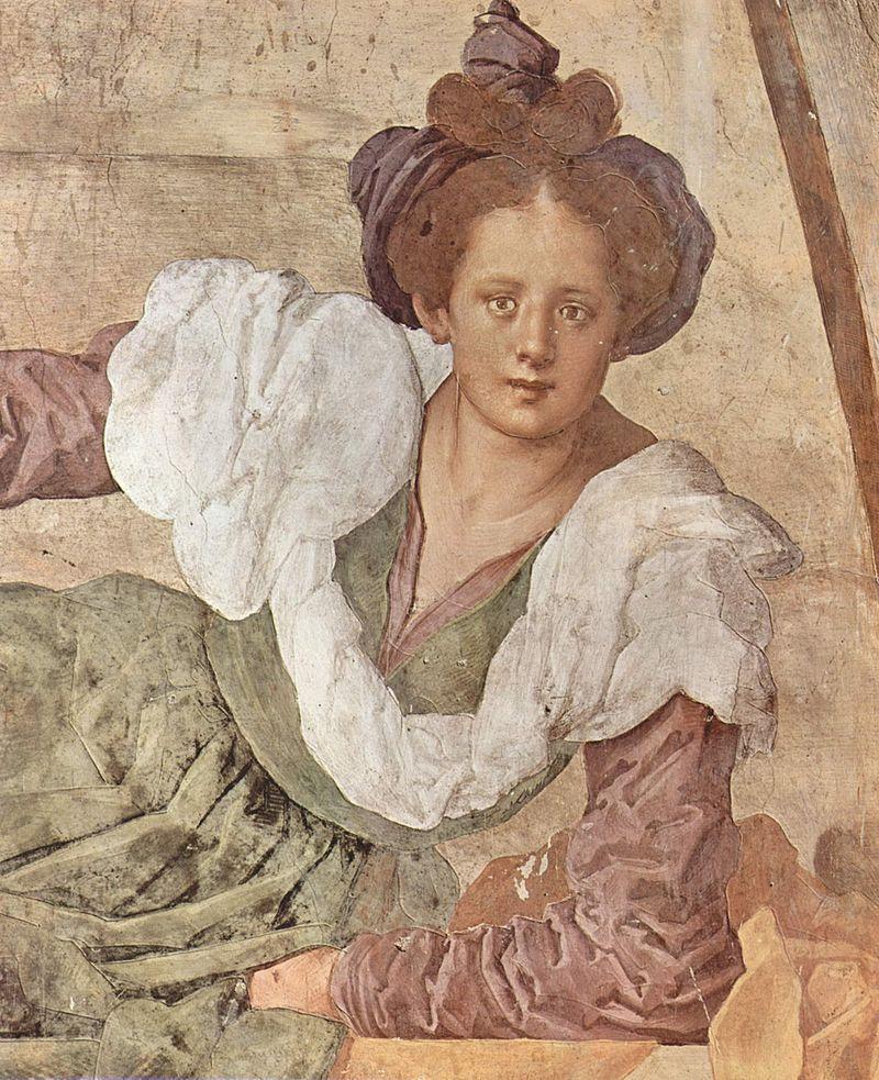 Jacopo Carucci detto Il Pontormo(1494-1557) - Pomona (Villa medicea di Poggio a Caiano, Prato)