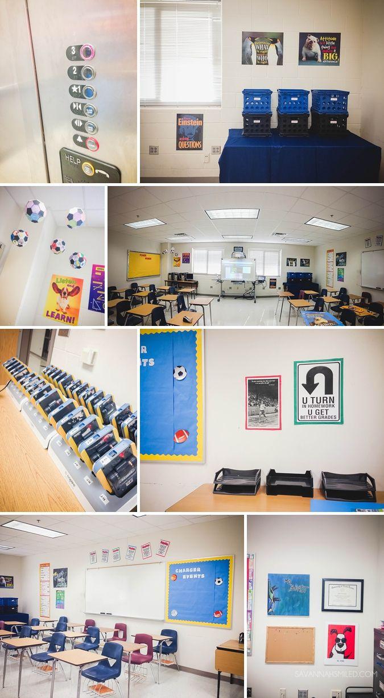 Male teacher classroom.
