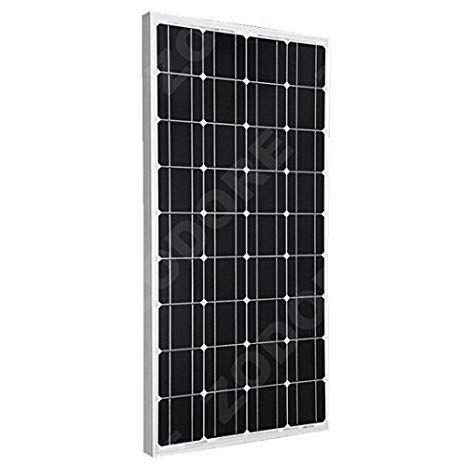 Solar Panel 100 Watt Monocrystalline Photovoltaic Zodore Pv Solar Panel Module 12v Battery Charging For Rv Boat Caravan Camper Or Yacht For Off Grid Backup Solar Pv Panel Solar Power