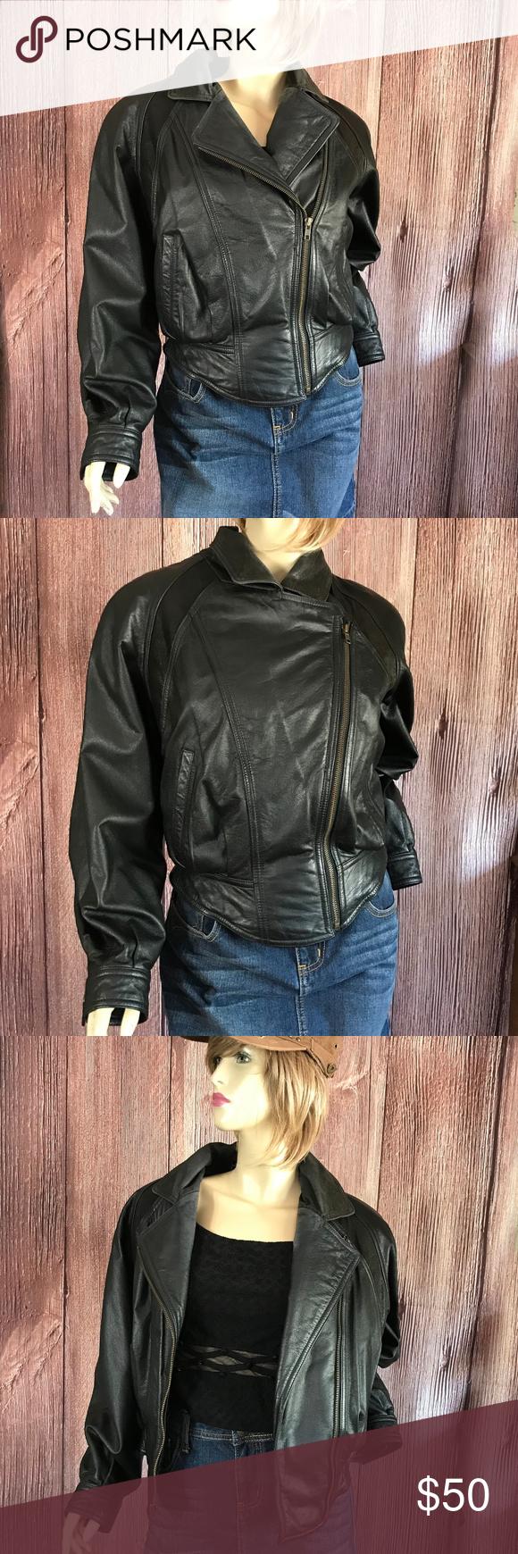 Thinsulate Wilsons Leather Moto Bomber Jacket XS Wilsons