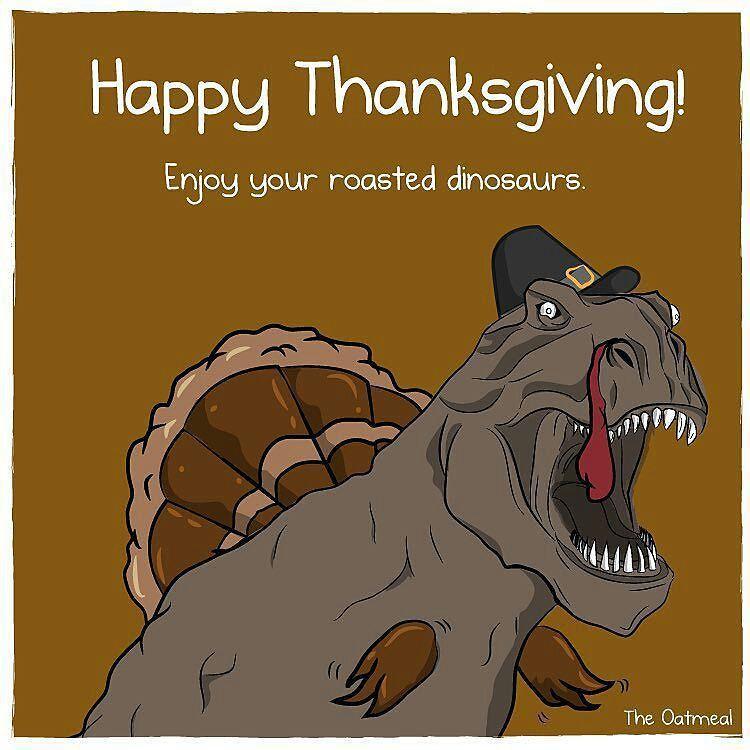 Happy Gobble Day! #thanksgiving #turkey #trex #dinosaur # ...