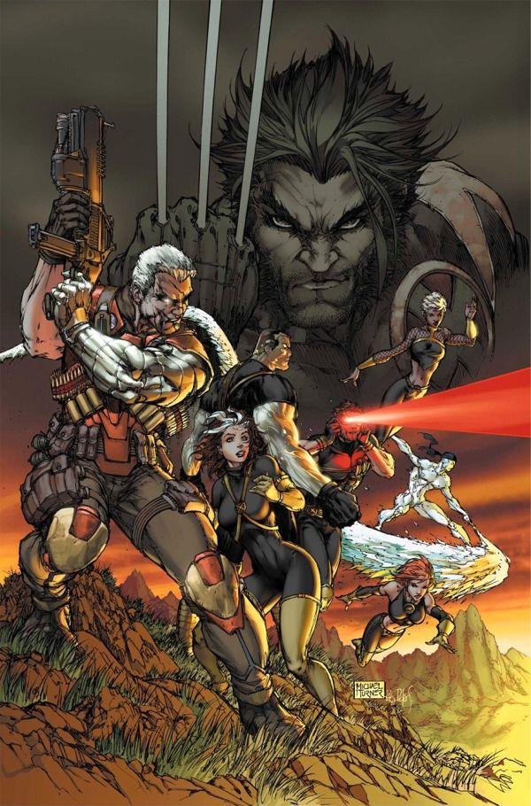 Ultimate X Men 75 Cover By Michael Layne Turner Marvel Comics Art Comics Artwork Superhero Art