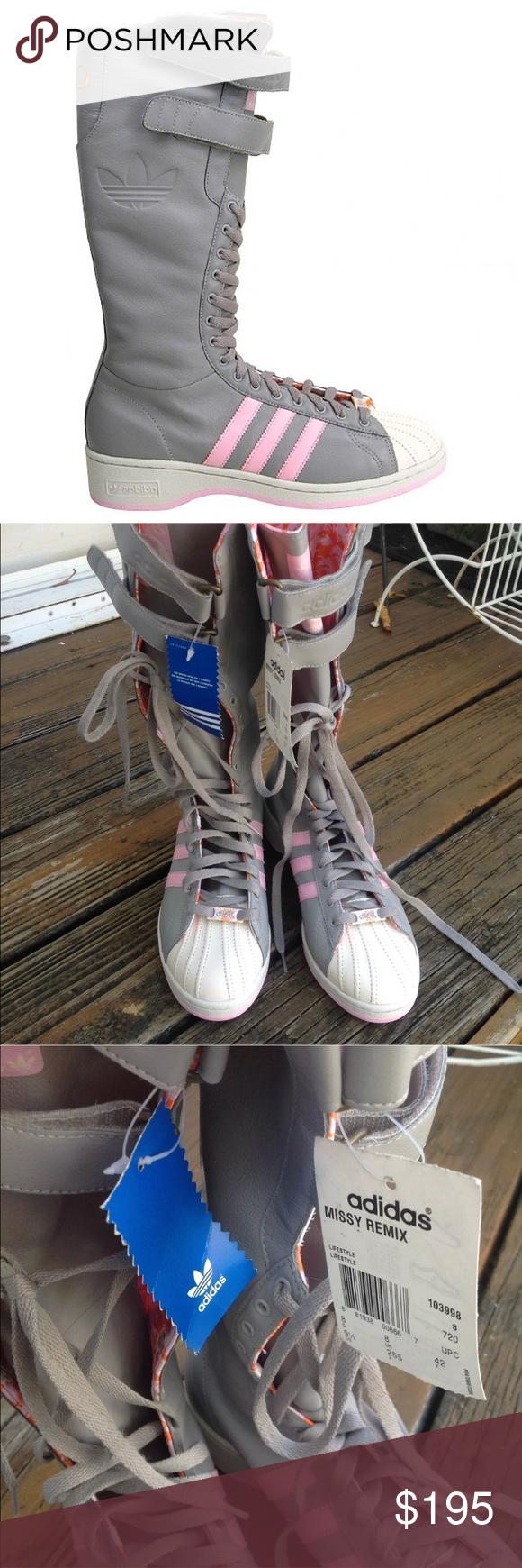 Adidas Missy Elliot Remix Boots Sneakers 9.5 EU42 Adidas