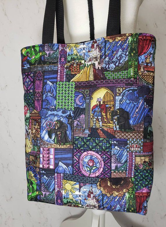 Beauty and the Beast Over the Shoulder Purse Knitting ...