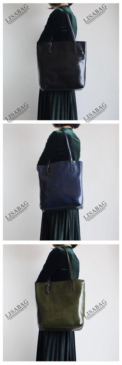 Handmade Women s Fashion Leather Tote Bag Handbag Shoulder Bag Shopper Bag  14149--LISABAG 05a2689aee