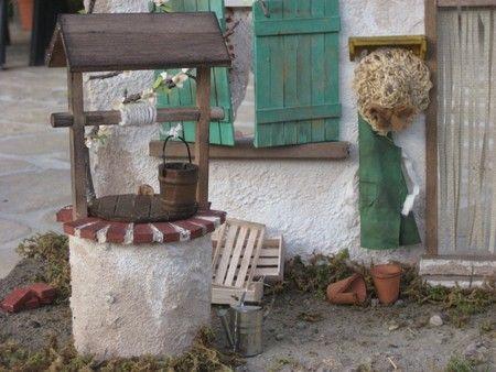 Fabriquer un puits miniature   La Maison de Bois | Deco village de