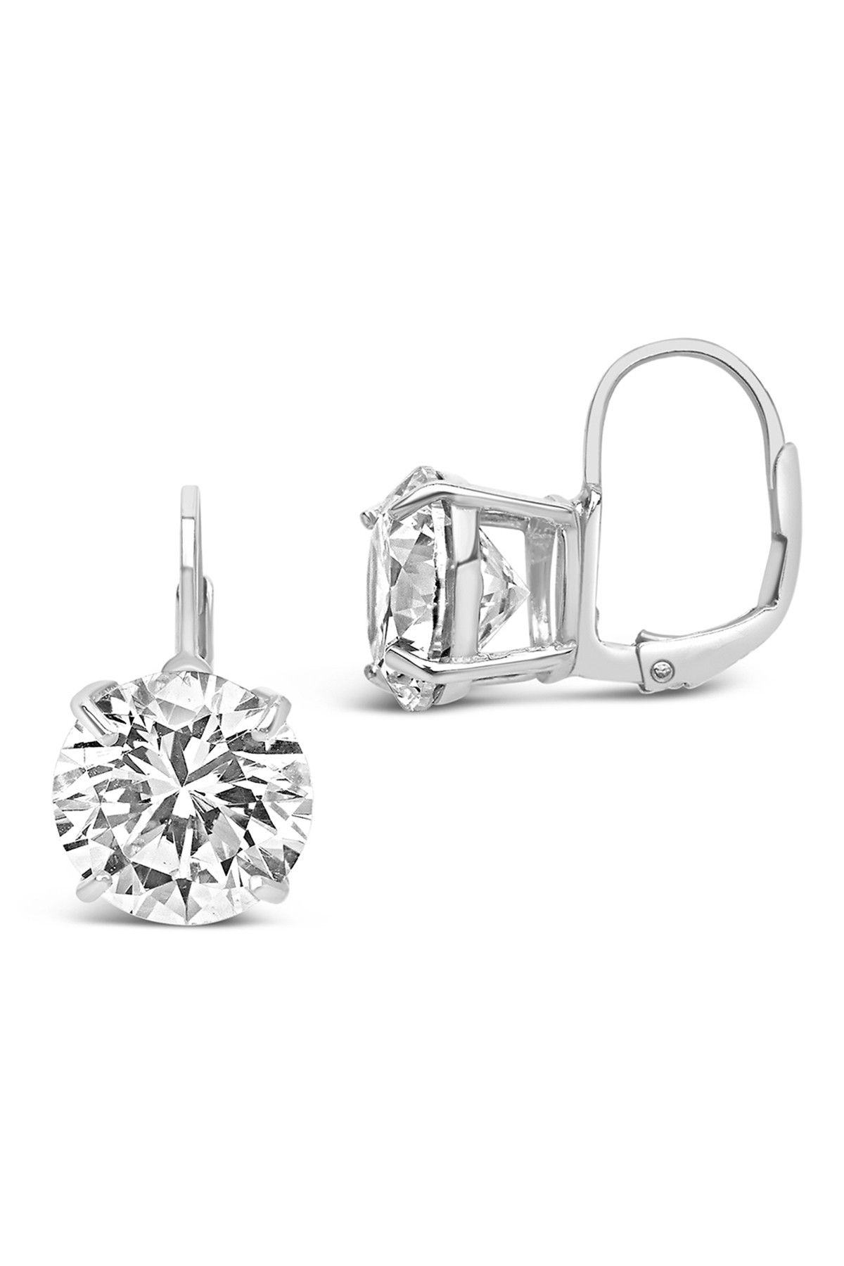 Sterling Forever | Sterling Silver CZ Drop Earrings #nordstromrack