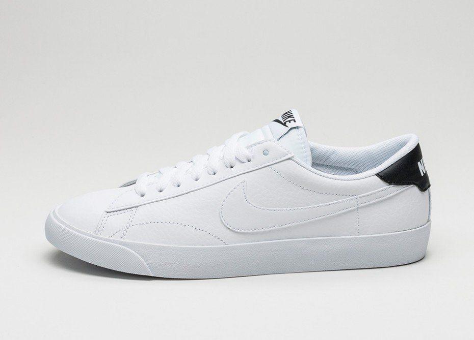 Nike Tennis Classic Ac White White Black Nike Tennis White And Black White Sneaker