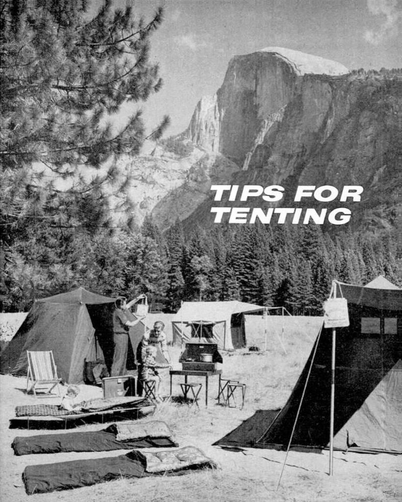 1960 Tenting Tips | Camping | Popular mechanics, California camping