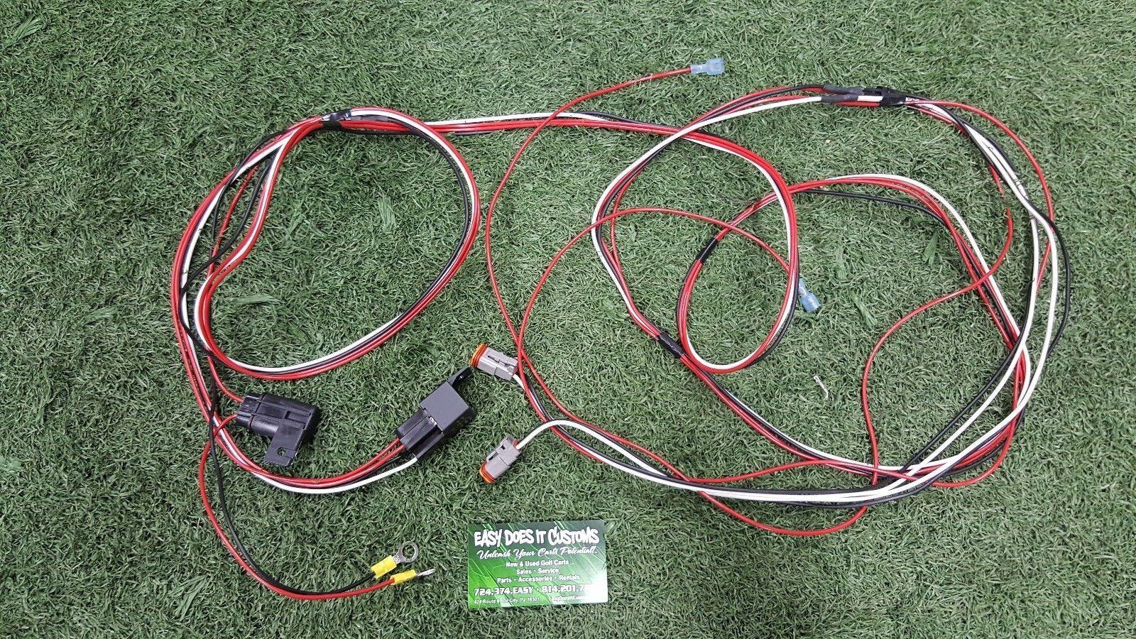 medium resolution of make sure the led light bars on your club car ezgo or yamaha golf