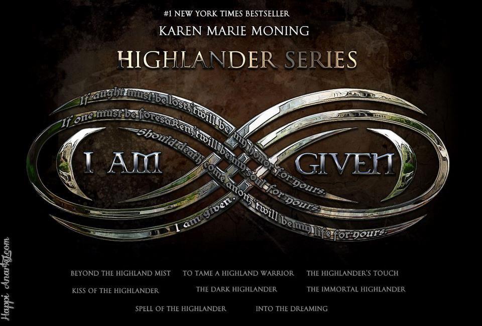 Highland Wedding Vows From Karen Marie Moning S Highlander Series Karen Marie Moning Geek Books Fever Series