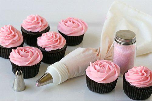 Pink Cupcakes & Icing ♥