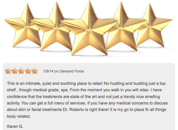 We Love To Hear The Wonderful Feedback From Our Patients