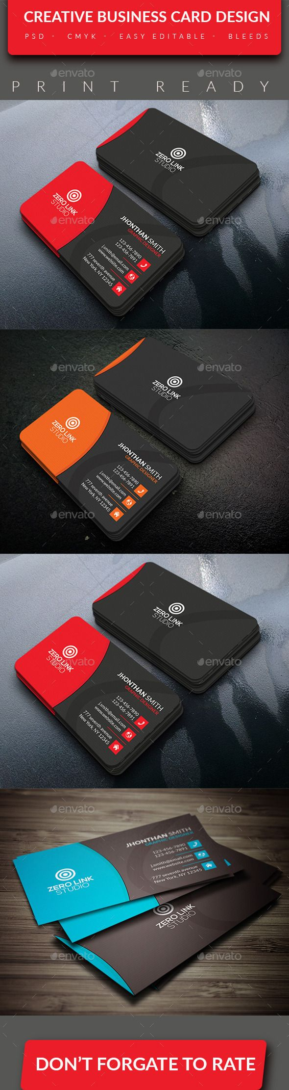Creative business card v 5 card templates business cards and creative business card template design download httpgraphicriver reheart Gallery