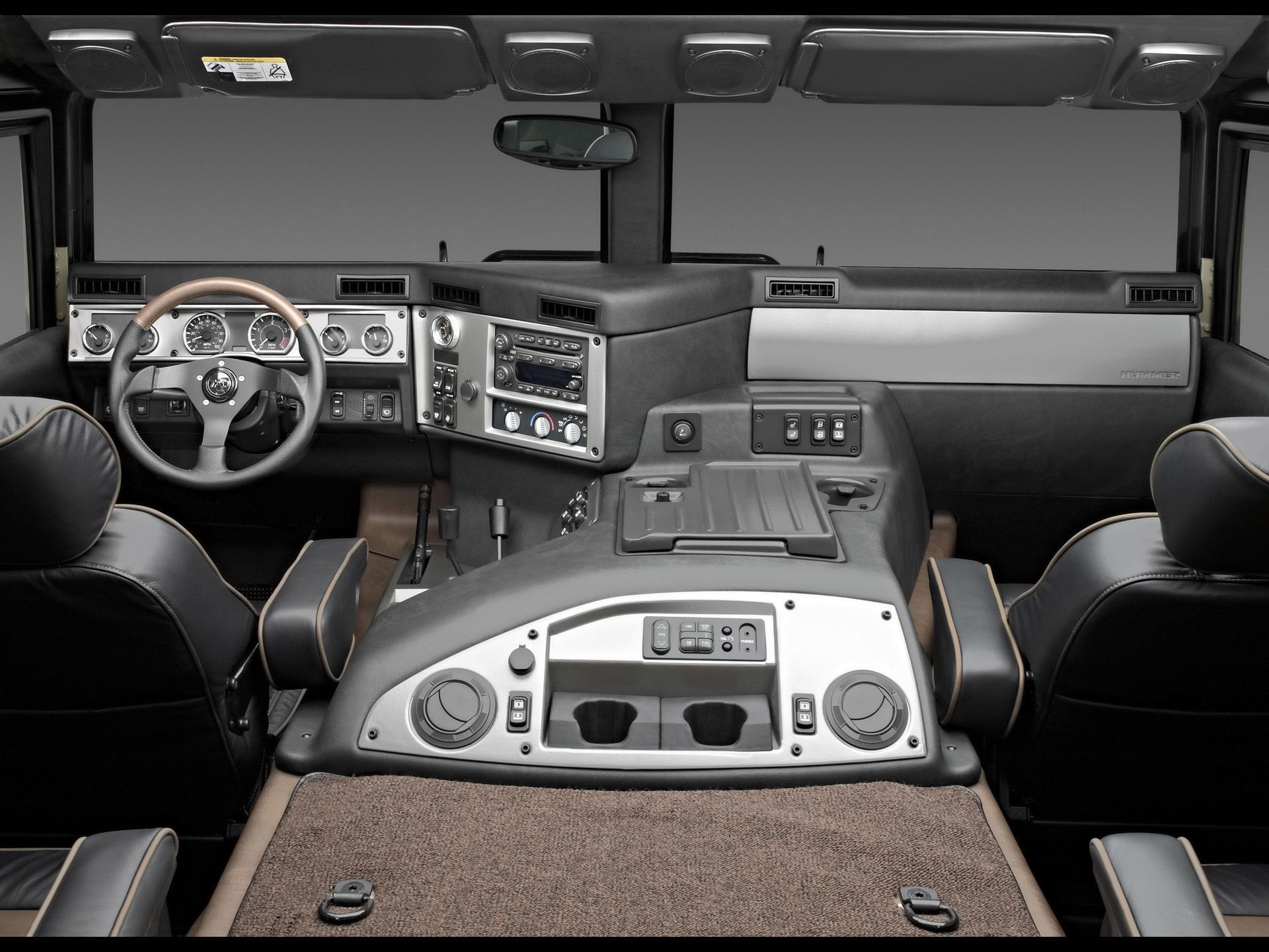 By far the best interior of any vehicle on the road! Hummer H1 Alpha ...