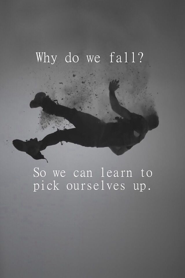 Why do we fall....