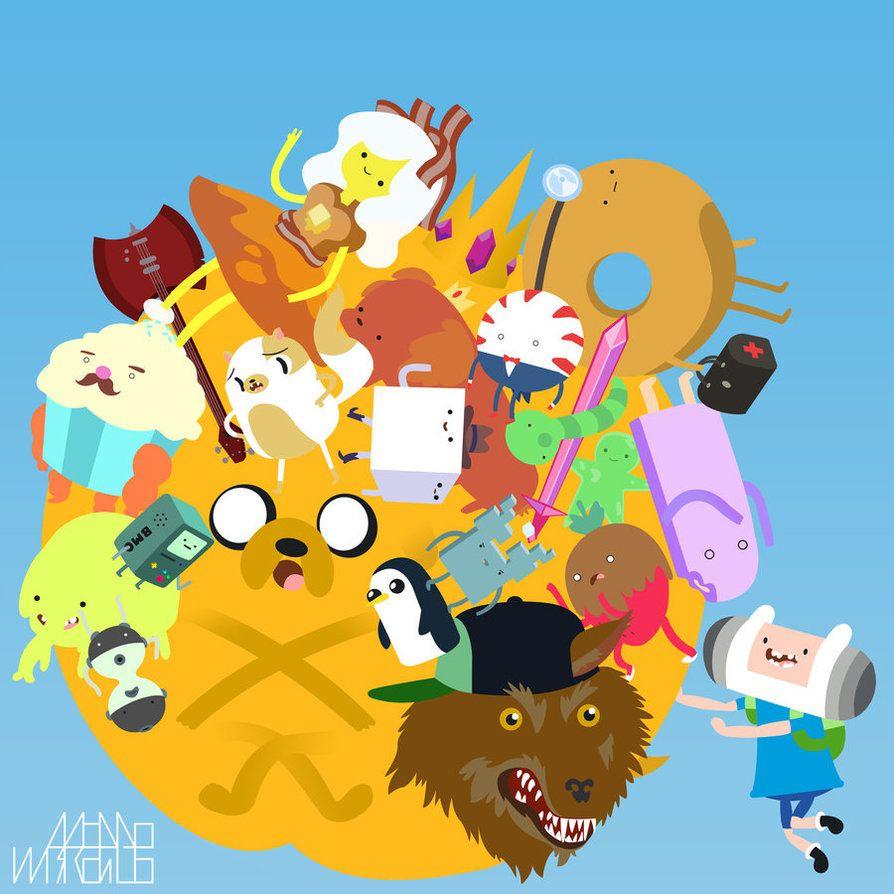 Katamari Time - by Adam Bayley Katamari meets Adventure Time ...