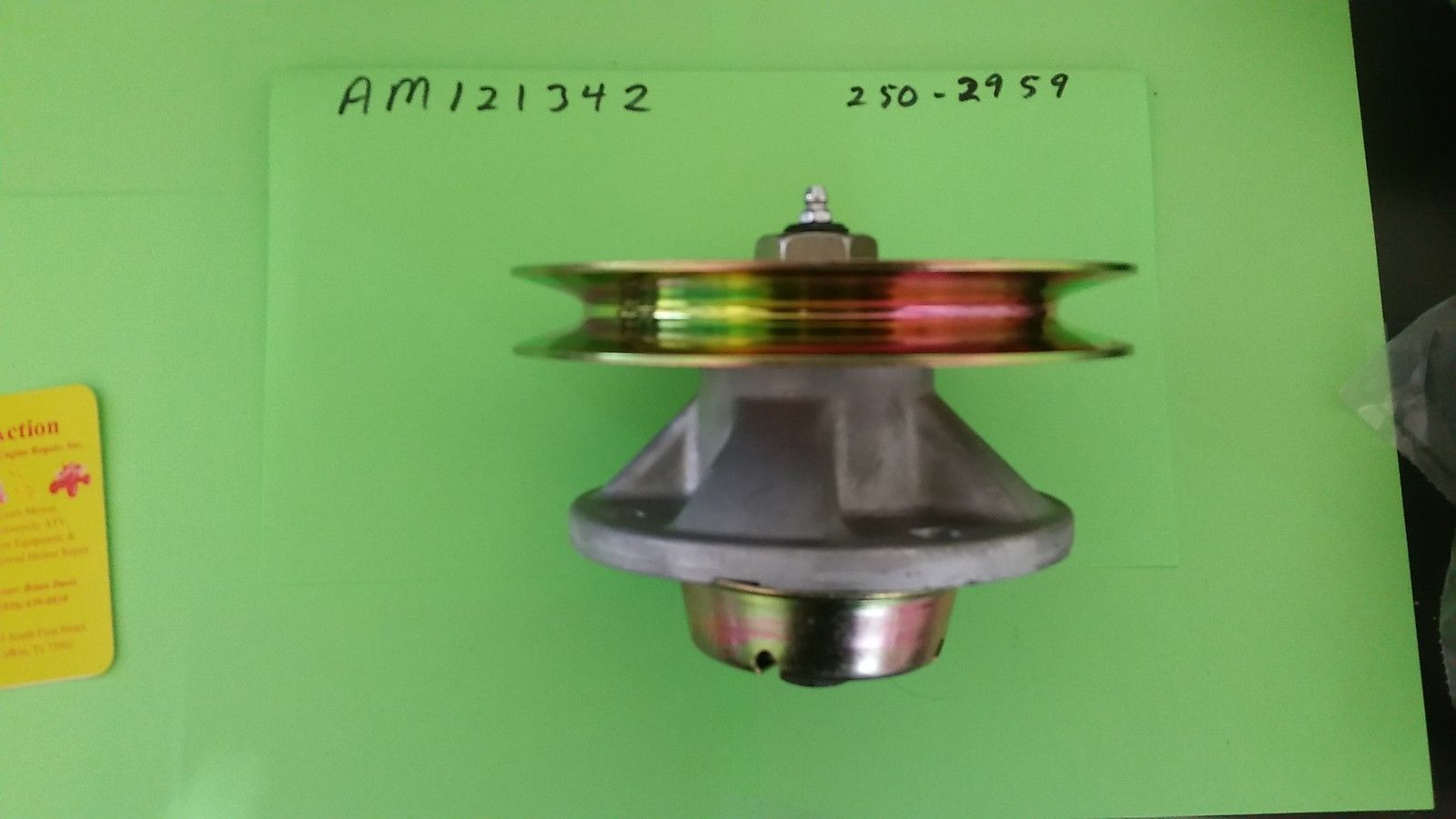 ebay farm and garden. farm and garden: new spindle assembly w pulley for john deere fits am121342 am121229 ebay garden n