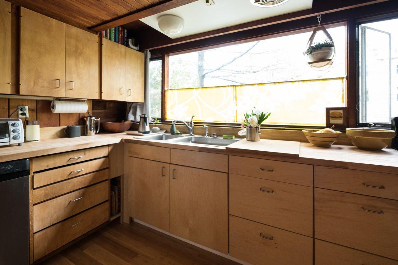 Julia & Stone's Naturally Modern Multilevel In Massachusetts Classy Kitchen Design Massachusetts Review