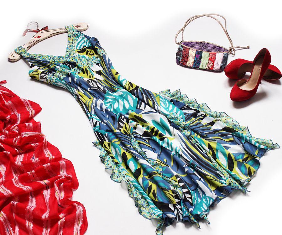 George Szyfonowa Zwiewna Sukienka J Nowa 42 Xl 7303184184 Oficjalne Archiwum Allegro Moda Boho Vintage Boho Hippie Boho