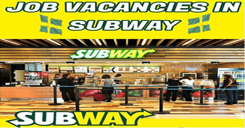 Jobs In Sweden At Subway Food Subway American Fast Food Jobs