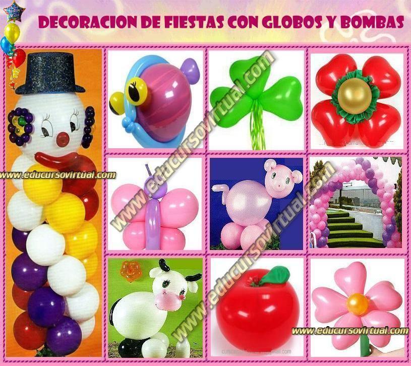 Decoracion con globos fiesta 1 a ito ni o resultados de - Bombas para decorar ...