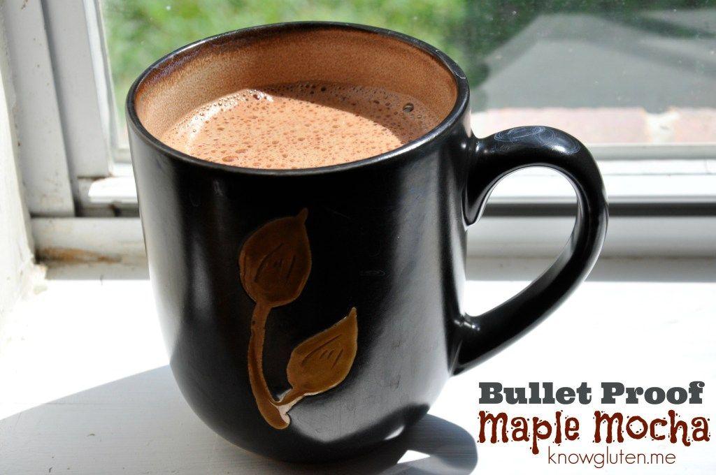Bullet proof maple mocha bulletproof coffee coconut oil
