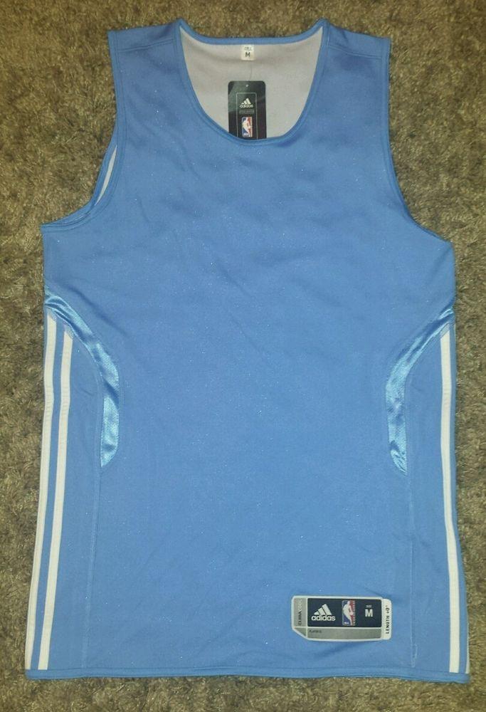 competitive price 312c7 c9632 Blue Mens ADIDAS Climacool NBA Basketball Tank M Tall Length ...