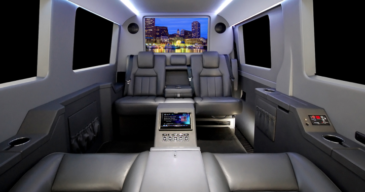 Meet The Jetvan Luxe For Soccer Moms And Dads You Ll Want To Carpool Every Day When You First Lay Eyes On This Machine Behind The Luxury Auto Benz