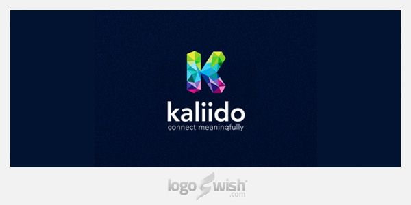 Kaliido by Shyam B Logo Inspiration Gallery | More logos http://blog.logoswish.com/category/logo-inspiration-gallery/ #logo #design #inspiration
