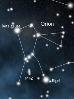 Orion Planetarietdk Stjernebilder