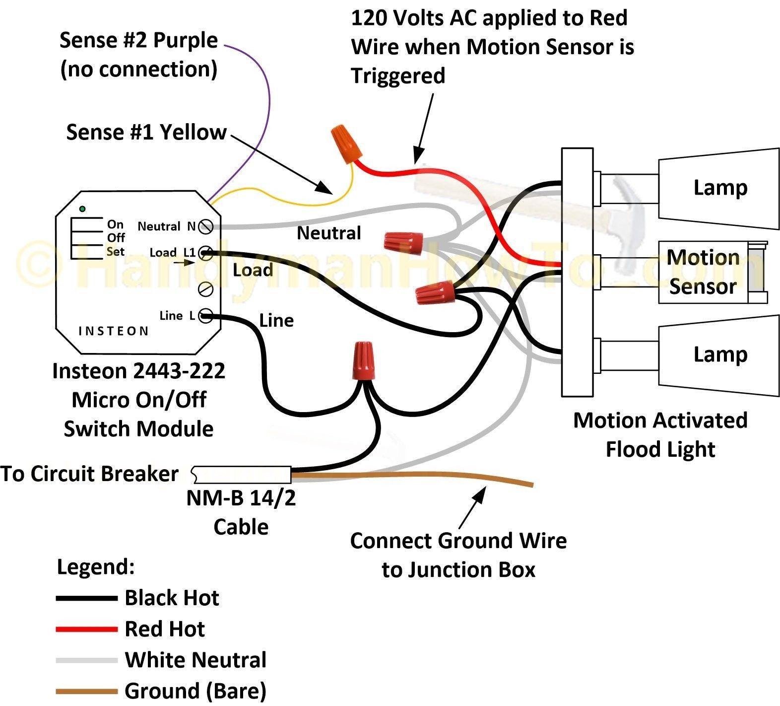Motion Sensor Light Wiring Diagram Elegant In 2020 Sensor Lights Outdoor Outdoor Flood Lights Outdoor Lighting Wire